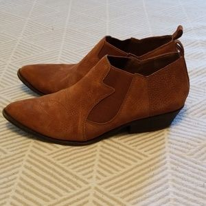 Lucky Brand Western Booties